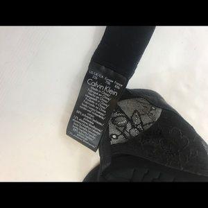 e835fd1acc7 Calvin Klein Intimates   Sleepwear - Calvin Klein QF1614 CK BLACK DARING  DEMI Bra 32B